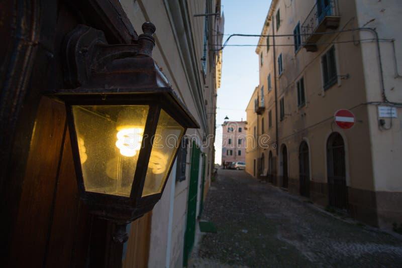 Alghero, Сардиния стоковая фотография rf