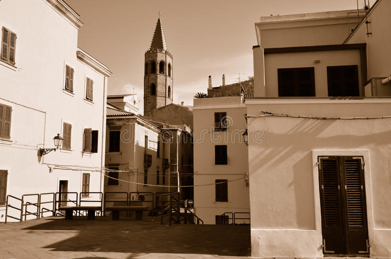 Alghero στοκ φωτογραφία
