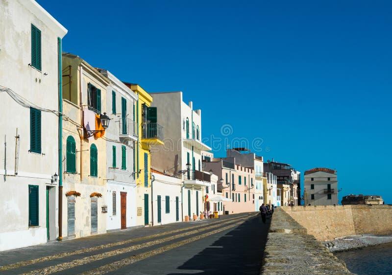 Alghero photographie stock libre de droits