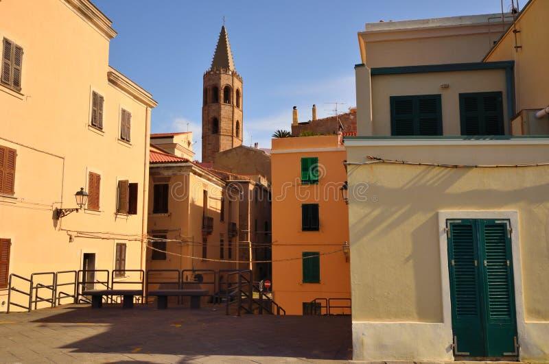 Alghero стоковая фотография