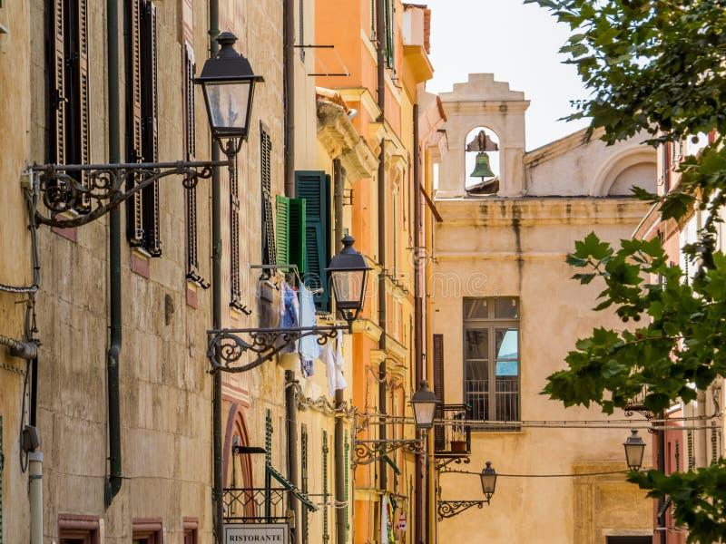 alghero Italie Sardaigne photographie stock libre de droits