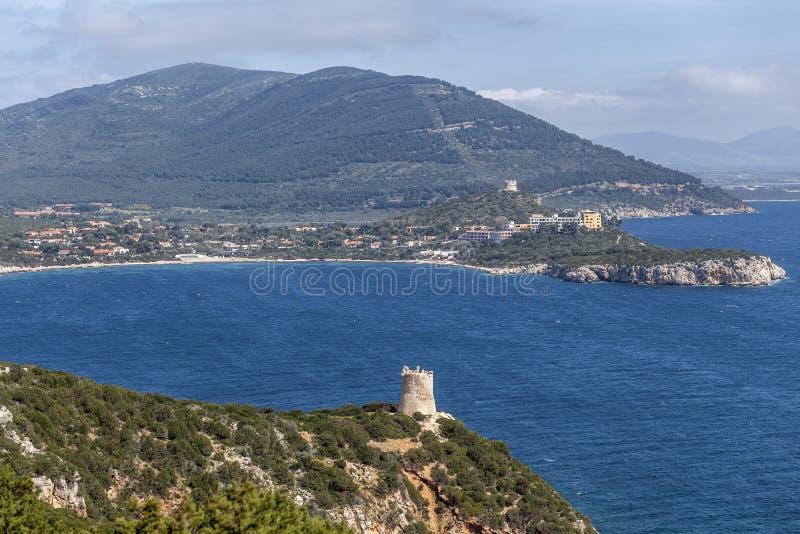 Alghero, Sardaigne, Italie photographie stock libre de droits