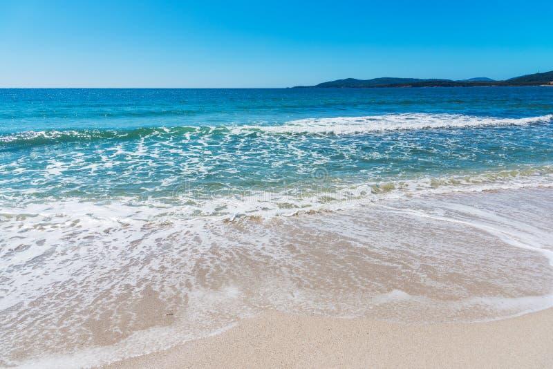 Alghero shore on a sunny day. Sardinia, Italy royalty free stock images