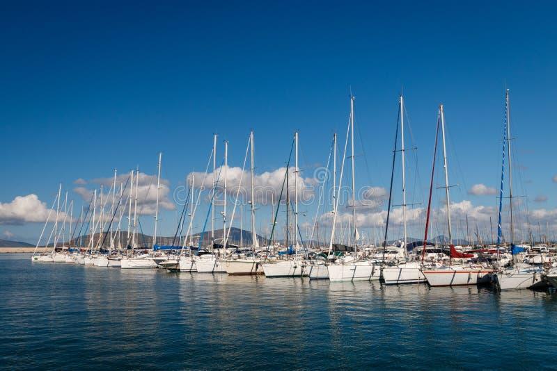 Algherohaven, Italië stock fotografie