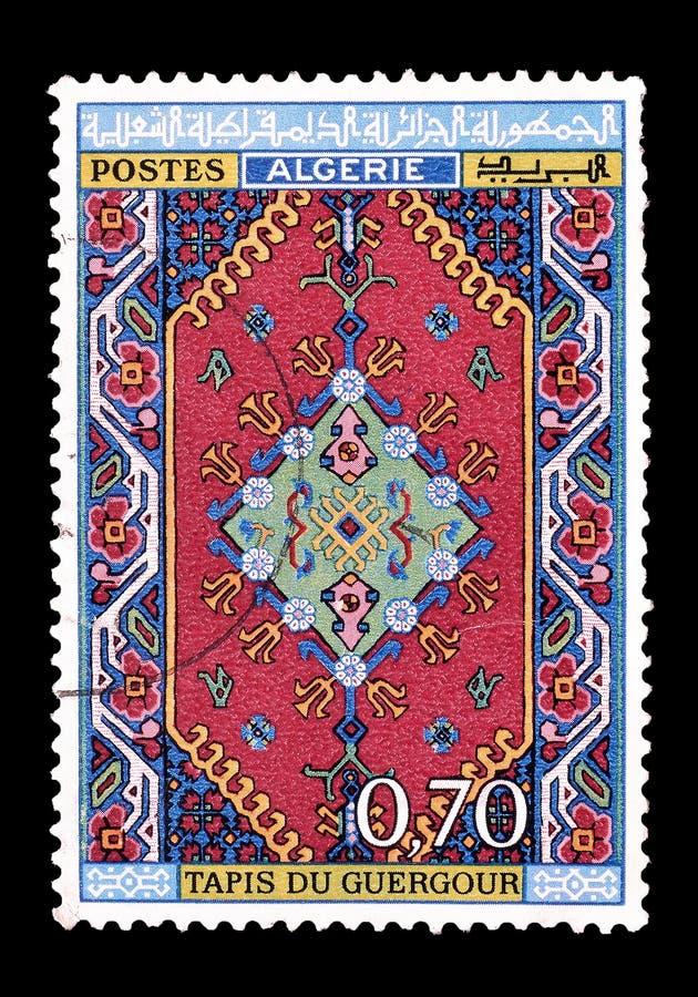 Algieria na znaczkach pocztowych zdjęcia stock