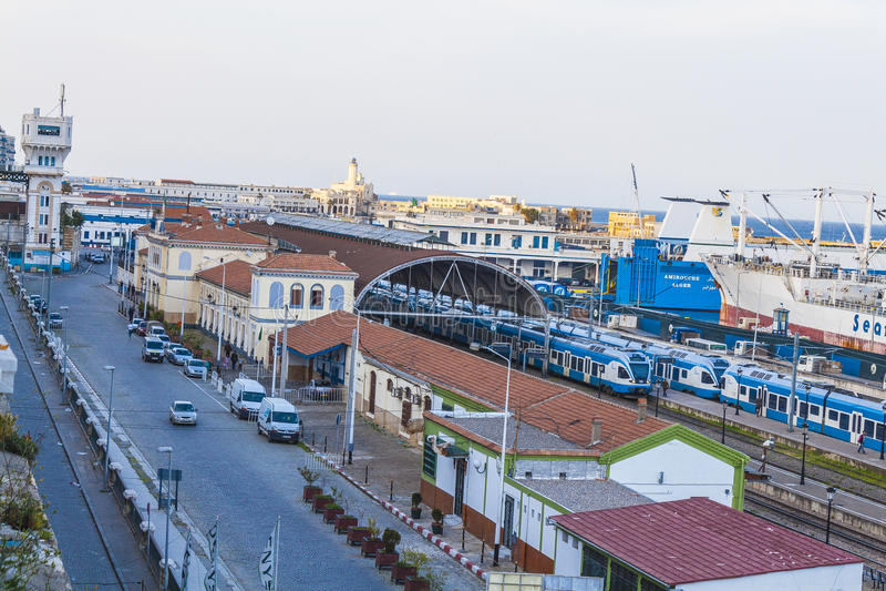 Algiers royalty-vrije stock afbeelding
