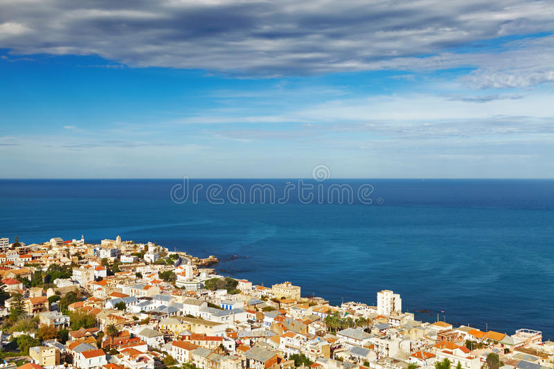 Algiers the capital city of Algeria royalty free stock photos