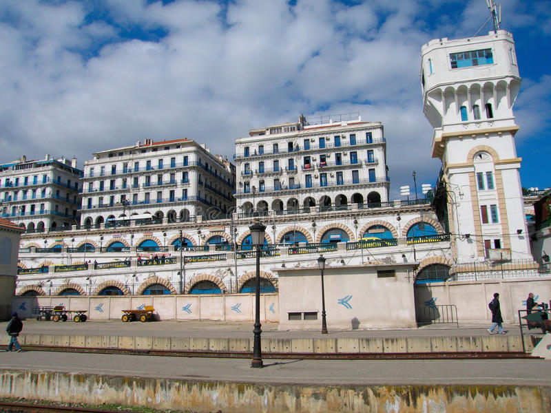 Algiers capital city of Algeria country. Northern africa stock photos