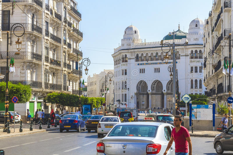 Algiers. The city of Algiers the capital of Algeria stock images