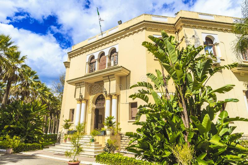 Algiers. National higher school of agronomy in  Algiers, in Algeria stock photo