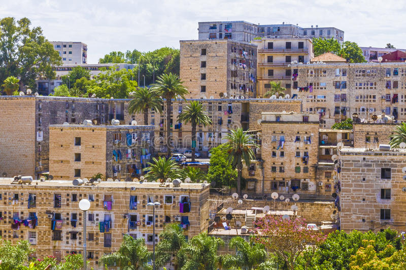 Algiers. View of Algiers, the capital city of Algeria royalty free stock image