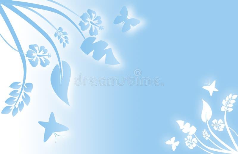 Algo azul stock de ilustración