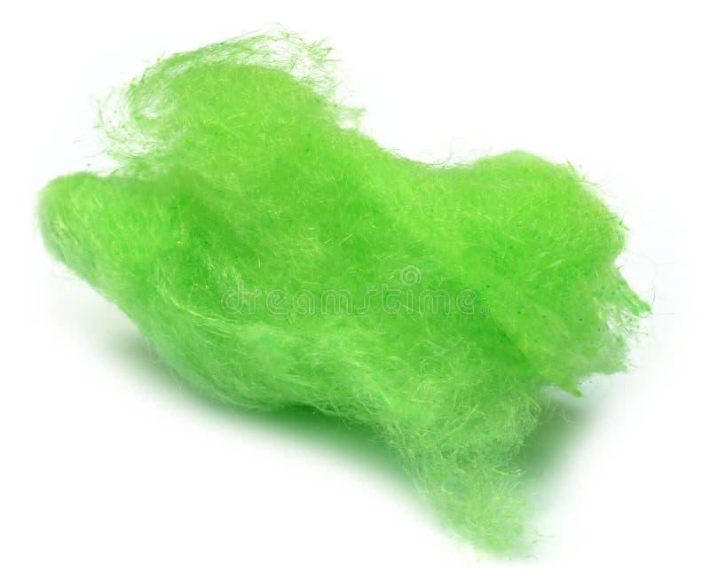 Algodão doce verde foto de stock