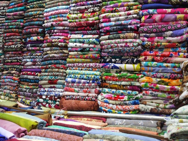 Algodón colorido imagen de archivo libre de regalías