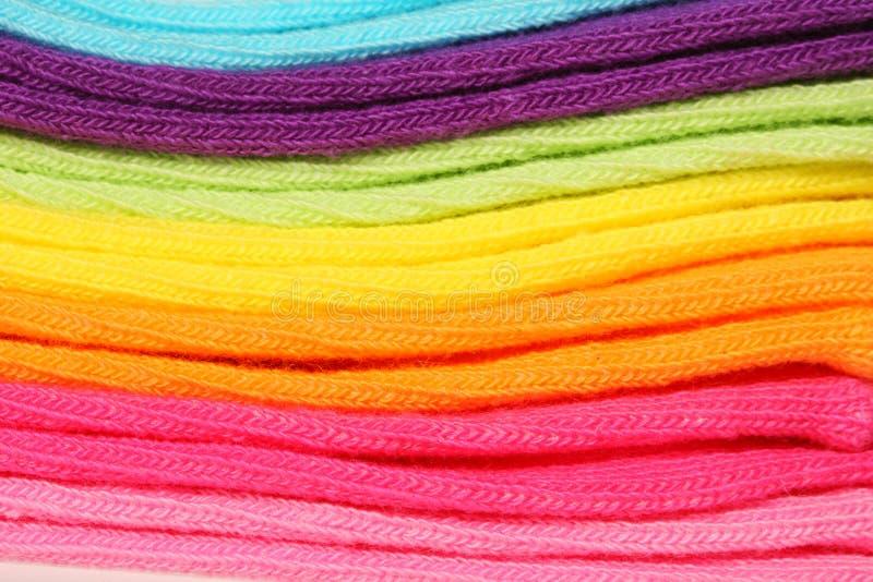 Algodón colorido fotografía de archivo
