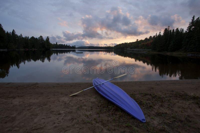 Algonquin het Meerwildernis van Parkmuskoka Ontario royalty-vrije stock fotografie