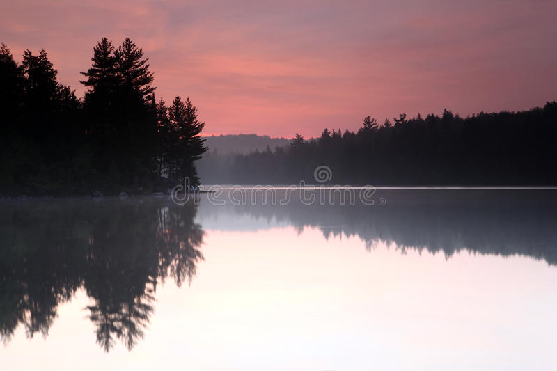 Algonquin Sunrise royalty free stock photos