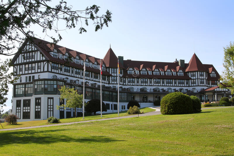 Algonquinhotel, St Andrews, New-Brunswick stockfotos