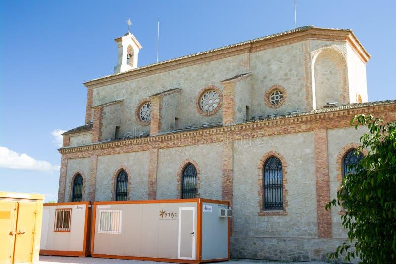 Algorfa kościół wznawia zdjęcie royalty free