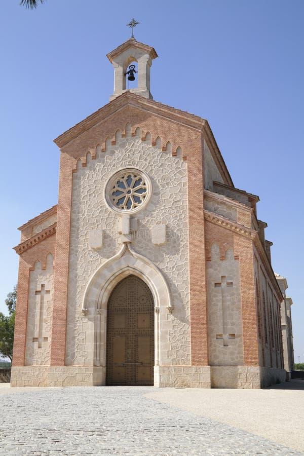 Algorfa w Hiszpania fotografia stock