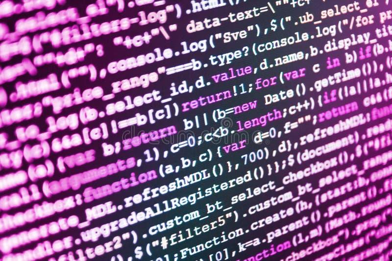 Algoritmo abstrato de programação dos trabalhos imagens de stock