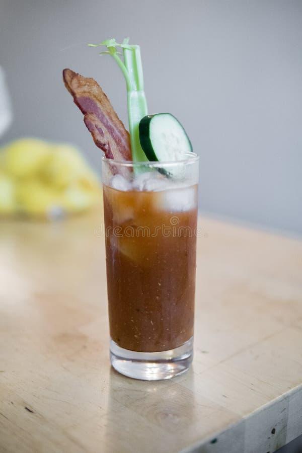 Alguém disse o Bloody Mary? fotografia de stock royalty free