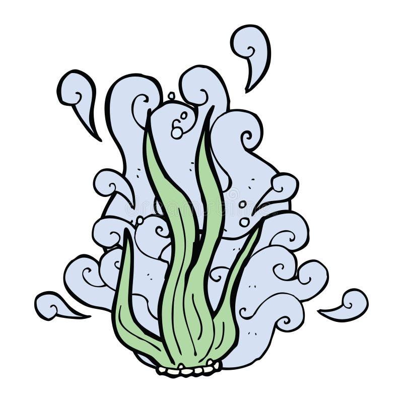 algue de bande dessinée illustration stock