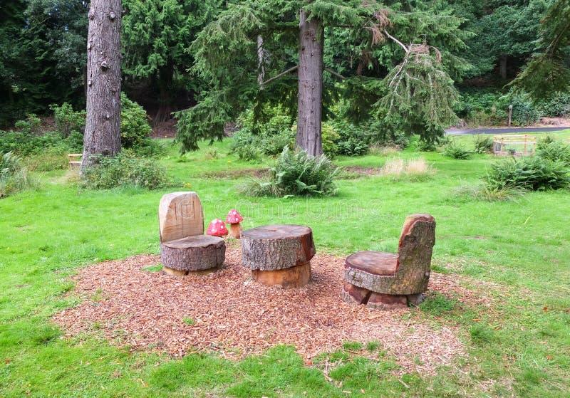Algunas tallas del jardín fotos de archivo libres de regalías