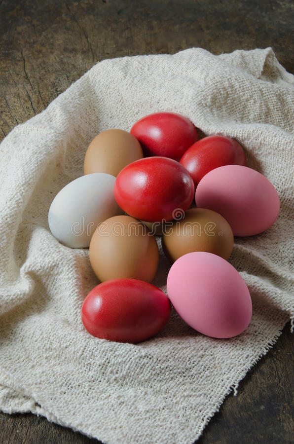 Alguns ovos fotos de stock royalty free