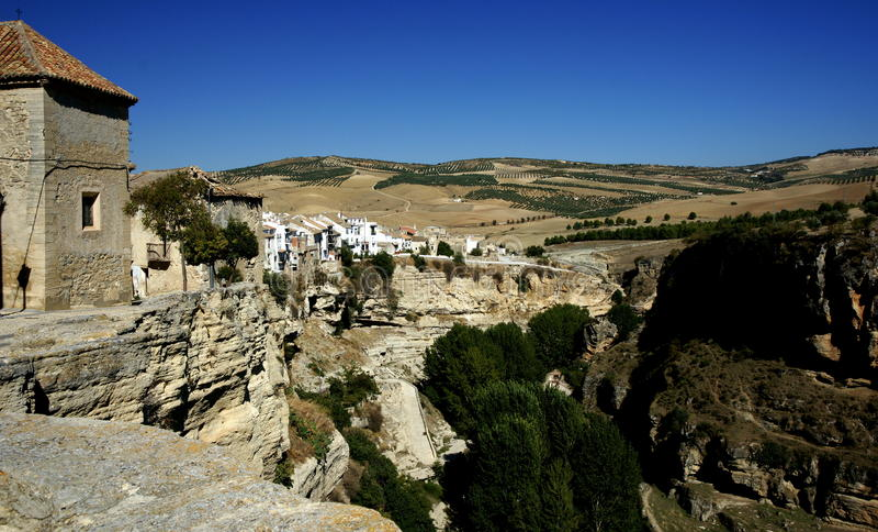 Alhama De Granada lizenzfreie stockbilder