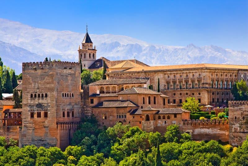 Alhambra imagem de stock