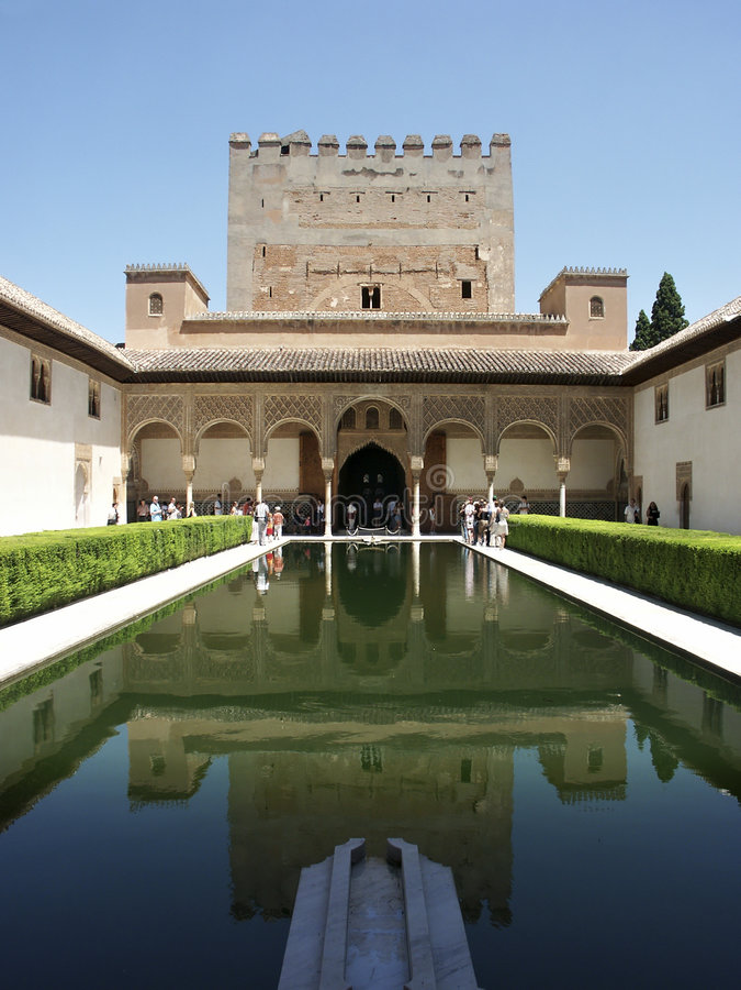 Alhambra stock foto's