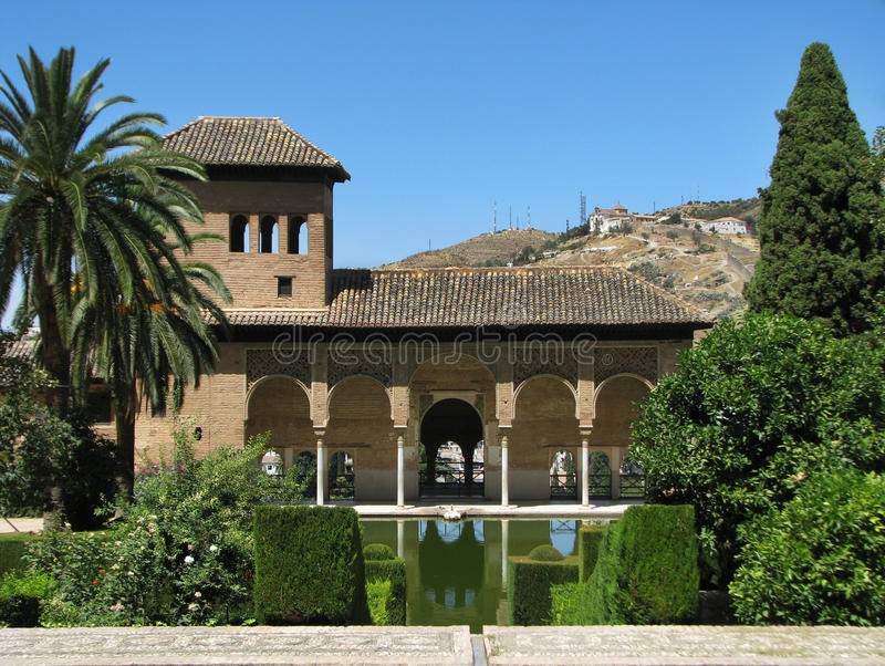 Alhambra stock fotografie