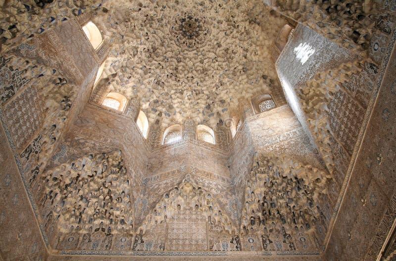 alhambra royaltyfria foton