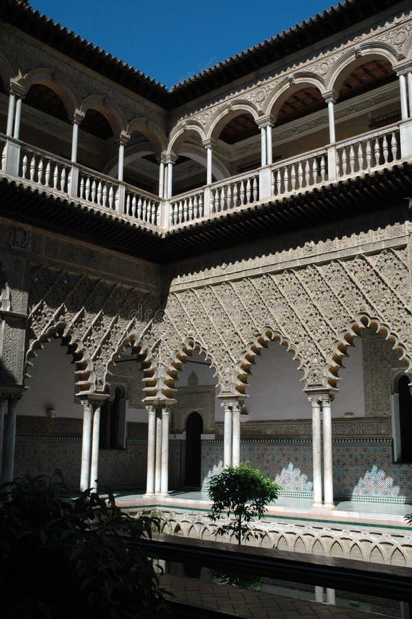alhambra royaltyfri bild