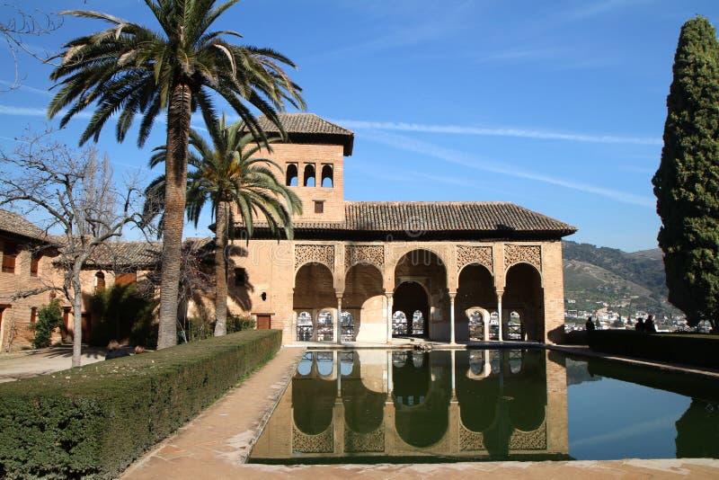 Alhambra stock afbeelding