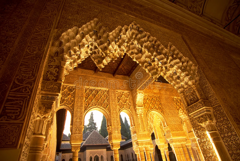 Alhambra 3 fotografia stock libera da diritti