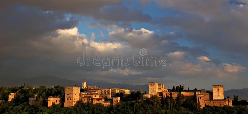 alhambra στοκ φωτογραφία
