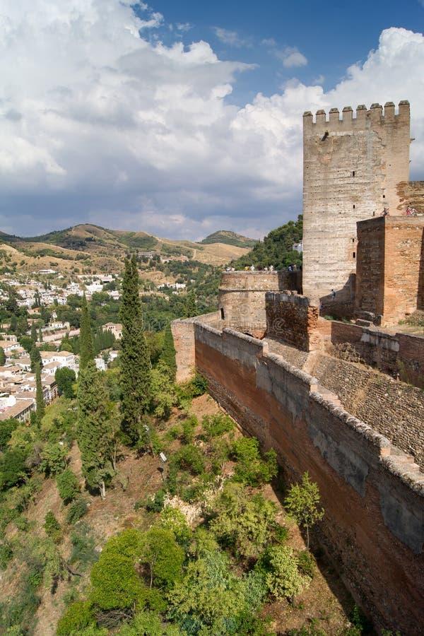 Alhambra fotografia de stock