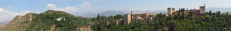 alhambra fotografia stock