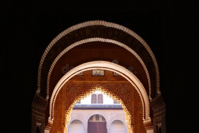 alhambra obrazy royalty free