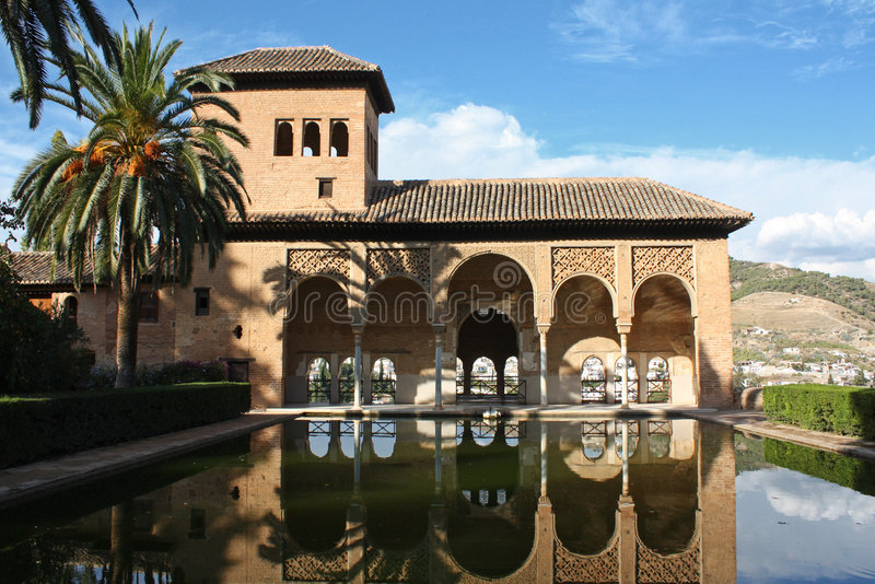 Alhambra fotografie stock libere da diritti