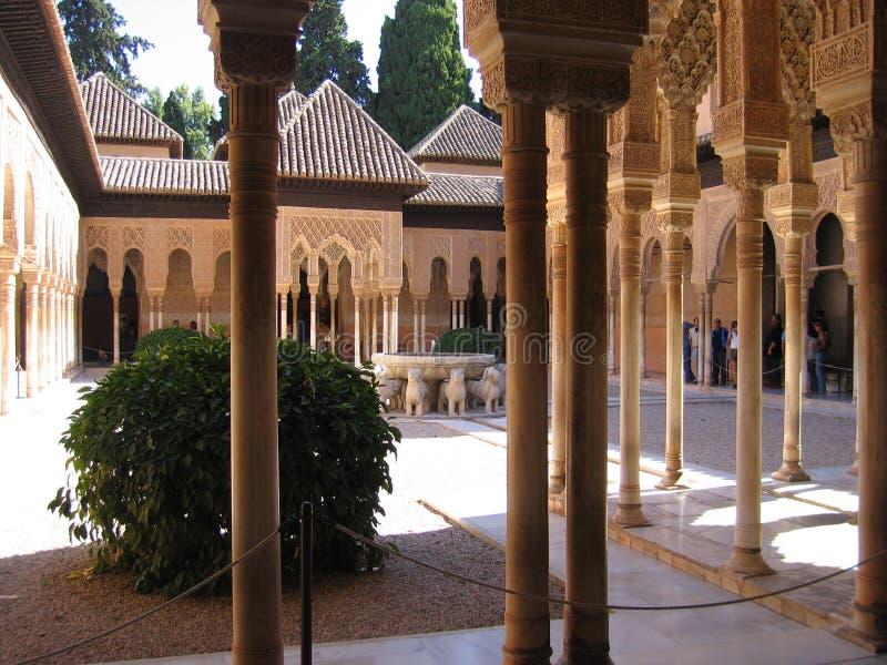alhambra στοκ εικόνες