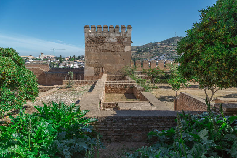 alhambra images stock