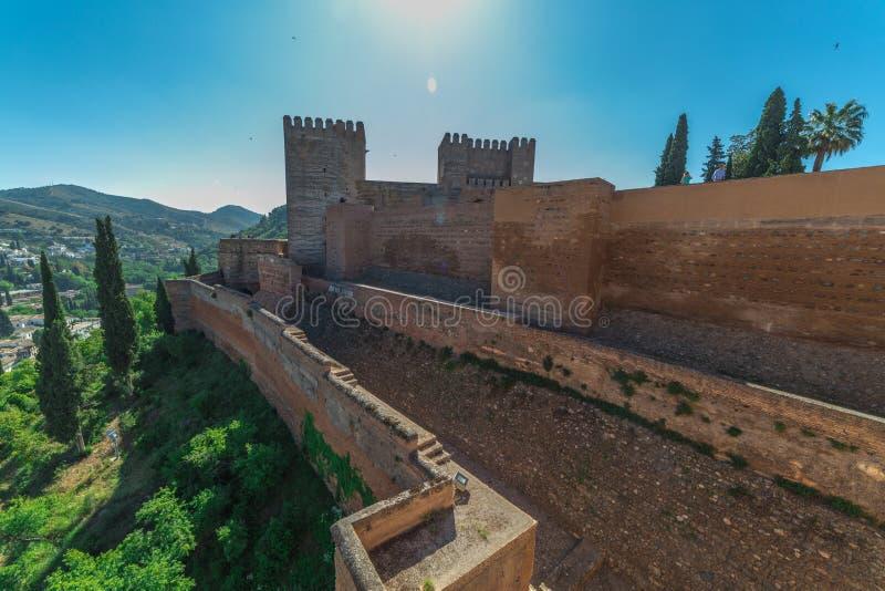 alhambra photographie stock libre de droits