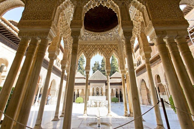 alhambra andalusia granada spain fotografering för bildbyråer