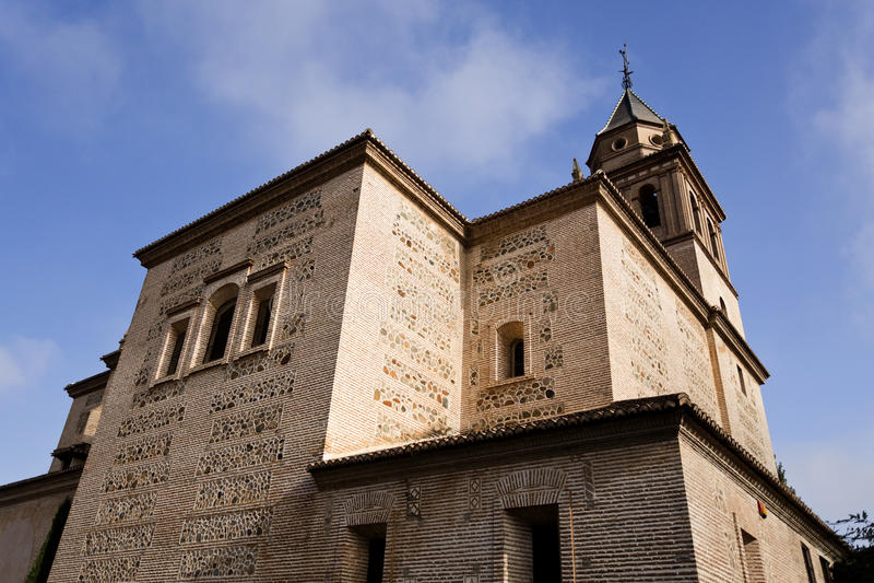 Alhambra Church Of Saint Mary foto de stock royalty free