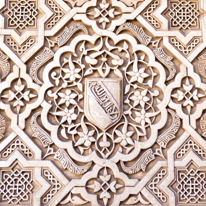 Alhambra Court des myrtes photographie stock libre de droits