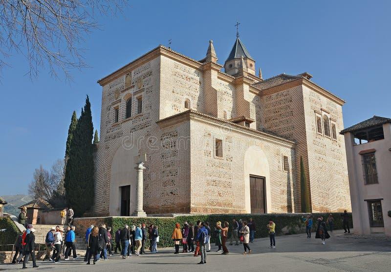 Alhambra da Granada-Espanha imagens de stock