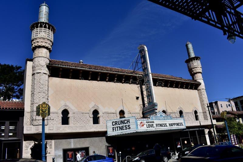 Alhambra de geschiktheidsgezamenlijke operatie van het theaterkraken, 2 royalty-vrije stock foto